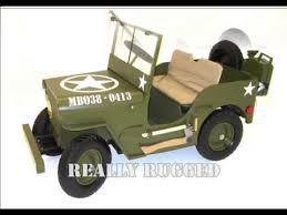 electric jeep for kids mb willy s jeep movie kids electric 24 volt jeep youtube