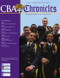 2014 15 winter chronicles by christian brothers academy issuu