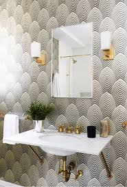 Art Deco Bathroom by Living Gazette Barbara Resende Decor Home Tour Casa Art Deco
