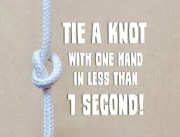 Challenge Do You Tie The End Tie A Knot With One A Simple Puzzle