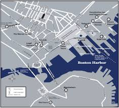Boston Visitor Map by In Our Neighborhood Uss Constitution Museum