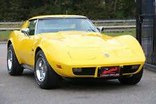 1976 corvette yellow corvette c3 cars motorcycles vehicles ebay