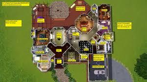 the sims 3 floor plan ideas