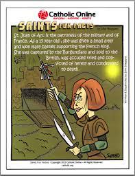 catholic shop online saints facts st joan of arc saints catholic saints and