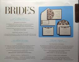 wedding registry cing gear brides diy wedding invitation kit brown ivory home