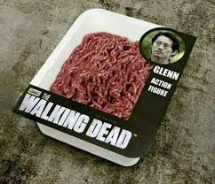 Glenn Meme - ground beef glenn of his mutilated head the walking dead know