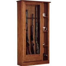 american classics gun cabinet american furniture classics 5 51 cu ft 10 gun cabinet and curio
