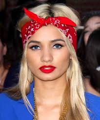 how to wear bandanas with bob hairstyles tie one on 14 ways to wear a headscarf bad hair bandanas and