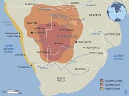 africa map kalahari desert kalahari desert facts information beautiful world travel guide