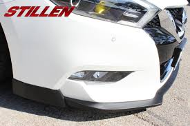 nissan maxima auto body parts stillen introduces 2016 nissan maxima exhaust intake and body kit