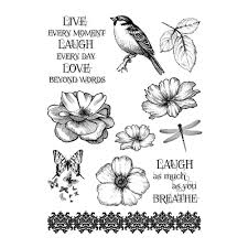 Live Laugh And Love by Rubber Stamps