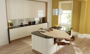 remo contemporary curved gloss kitchen in alabaster