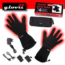 heated motorcycle clothing glovii battery heated glove liners the warming store