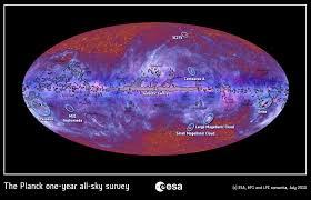 Map Of Universe Short Sharp Science Microwave Universe Planck U0027s First Hi Res Image