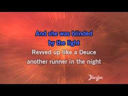 Lyrics Blinded By The Light Bruce Springsteen Blinded By The Light Lyrics Download Mp3 9 82 Mb