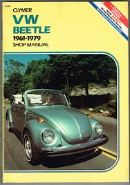 volkswagen beetle and ghia 1961 1979 shop manual eric jorgensen