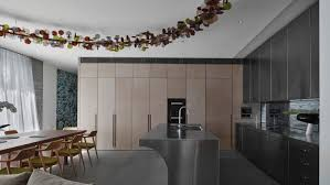 b e architecture put a spin on traditional design in granite
