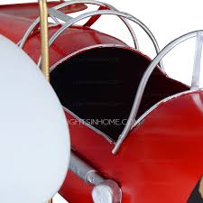 Airplane Ceiling Light Red Painting Airplane Ceiling Light Fixture For Kids