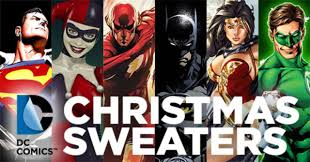 halloween sweaters dc comics christmas sweaters revealed