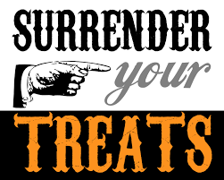 Free Printable Halloween Trivia Surrender Your Treats Printable