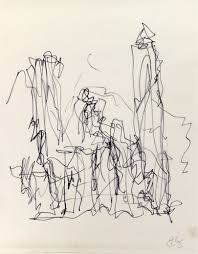 frank gehry u0027s sketches from jam session with esperanza spalding