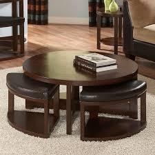 Leather And Wood Coffee Table Furniture Coffee Table With Chairs Ideas Hd Wallpaper Photos