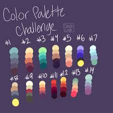 color palette challenge open by cazo corgi on deviantart