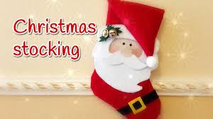 diy christmas crafts christmas stocking no sew innova crafts