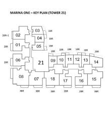 Singapore Floor Plan Marina One Residences Floor Plan All About Singapore New