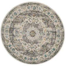 Circular Outdoor Rug Round Area Rugs Rugs The Home Depot