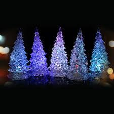 aliexpress com buy christmas trees led lighting desk decor ice