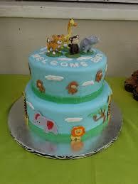 100 blue safari baby shower cakes baby shower giraffe cake