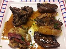 cuisiner des palombes supreme de palombes au foie frais picture of restaurant ur