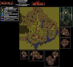 Final Fantasy 2 World Map by Final Fantasy Vi Esper World Map For Playstation By Keyblade999