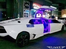 pink lamborghini limousine lamborghini reventon limex