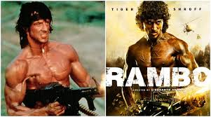 film rambo tribute sylvester stallone s new post on tiger shroff s rambo is a complete