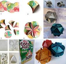 Diy Recycled Home Decor Diy Recycled Christmas Tree Decorations Find Fun Art Projects To