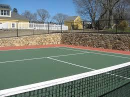 backyard tennis court my dream house pinterest backyard