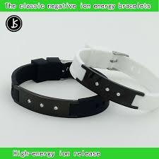 magnetic silicone bracelet images Scalar quantum bio elements energy bracelet for man power bands jpg