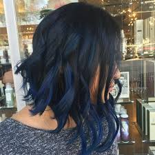 angled curly bob haircut pictures long angled wavy bob with bangs hair color ideas and styles for 2018