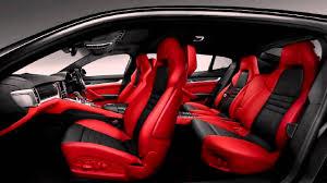 Panamera Red Interior Porsche Panamera 2016 Interior Image 61