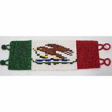 wixarika bracelet mexican flag u2013 alobaro llc