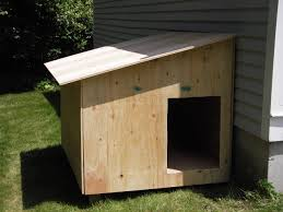 Tiny House For Two by Wood Double Dog Kennel Outdoor Large Dog House For Two For The