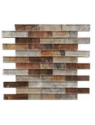 grey umber 12x12 interlocking mosaic wallandtile com