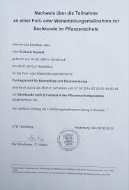 Deula Bad Kreuznach Zeugnisse Und Zertifikate