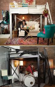 Loft Beds Maximizing Space Since Adult Loft Bed Increase The Functional Space In Your Apartment