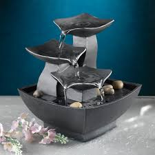 table top water fall rock waterfall indooroutdoor tabletop fountain fountains at