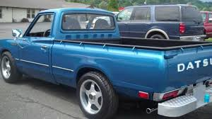 nissan trucks blue 1978 datsun 620 show truck sold youtube