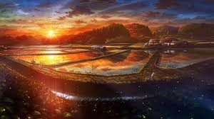anime scenery wide wallpapers hd wallpapers 1920x1080 px