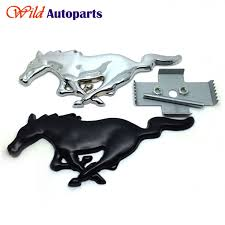 Black Mustang Grille Emblem Front Grill Picture More Detailed Picture About Metal Chrome